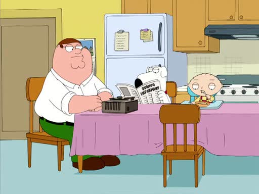 Family guy peter bird is the word