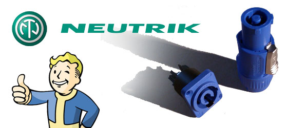 Neutrik powerCON: the strong connection