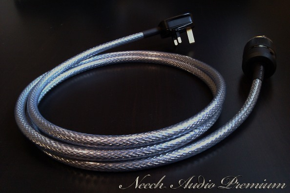 Neech Audio Premium power mains cable