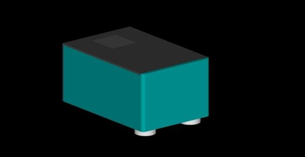 DIY 200W solid state monoblock power amplifier