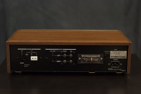 Sony ST5055L vintage analogue tuner refurbishment