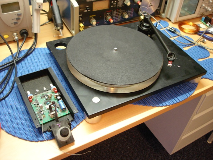 Holborne turntable refurbishment