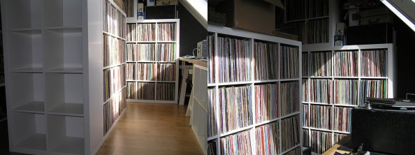 Ikea expedit vinyl record storage solution audiophile for Ikea lp storage