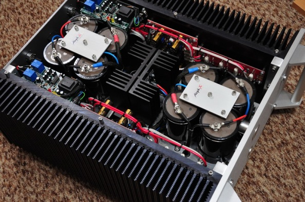 Class A power amplifier Aleph-X by Horst Wolf