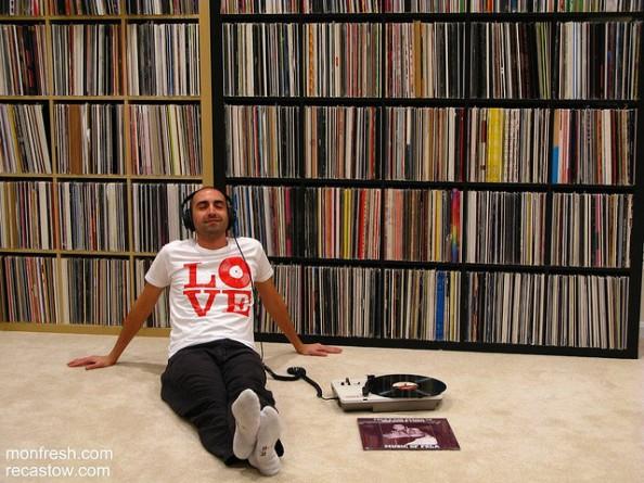 Vinyl Storage Ideas