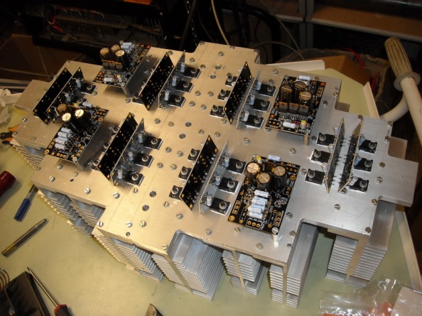 8 channel class A Aleph amplifier