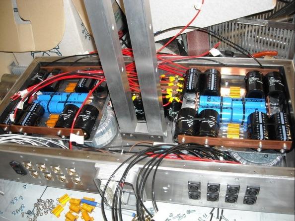 8 channel class A Aleph amplifier
