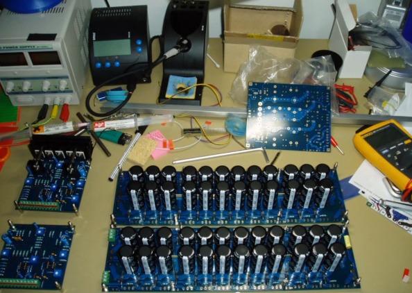Diy Class-A mosfet amplifier A-75