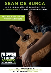 LONDON ACOUSTIC GUITAR SHOW – 7TH SEPTEMBER