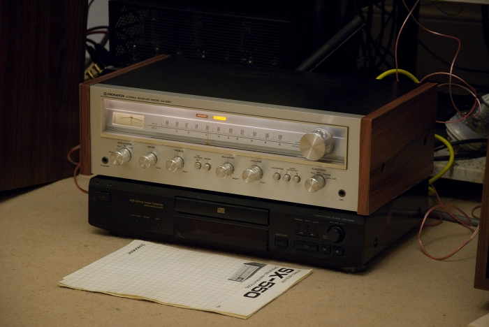 vintage pioneer receiver. vintage pioneer - receiver serie x50 collection catalogue 77/78