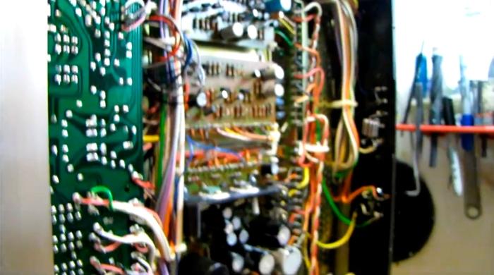Vintage audio gear restoration