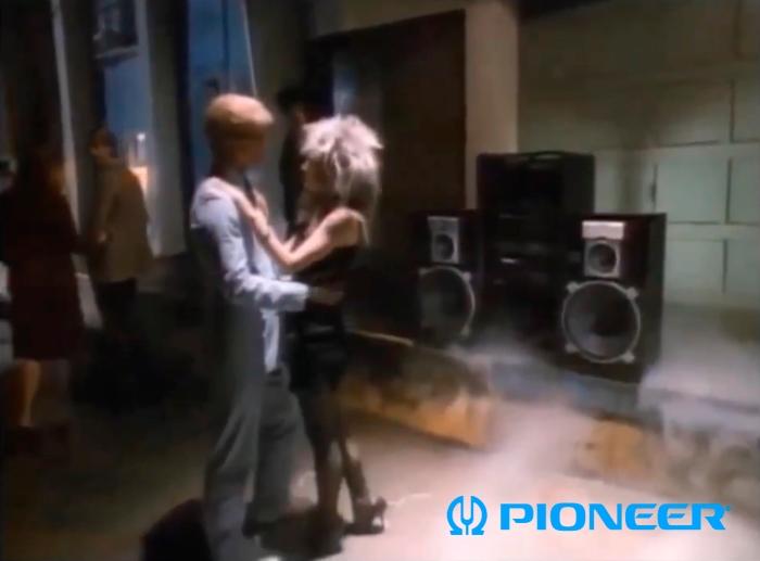 pioneer x-g serie 1988 vintage ad