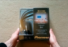 pioneer se-a1000 headphones unboxing