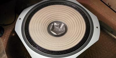 speaker dust cup