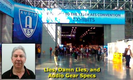 Lies, damn lies and audio gear specs