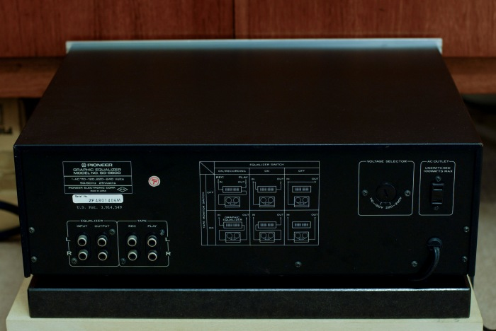 Pioneer SG-9800 Stereo Graphic Equaliser