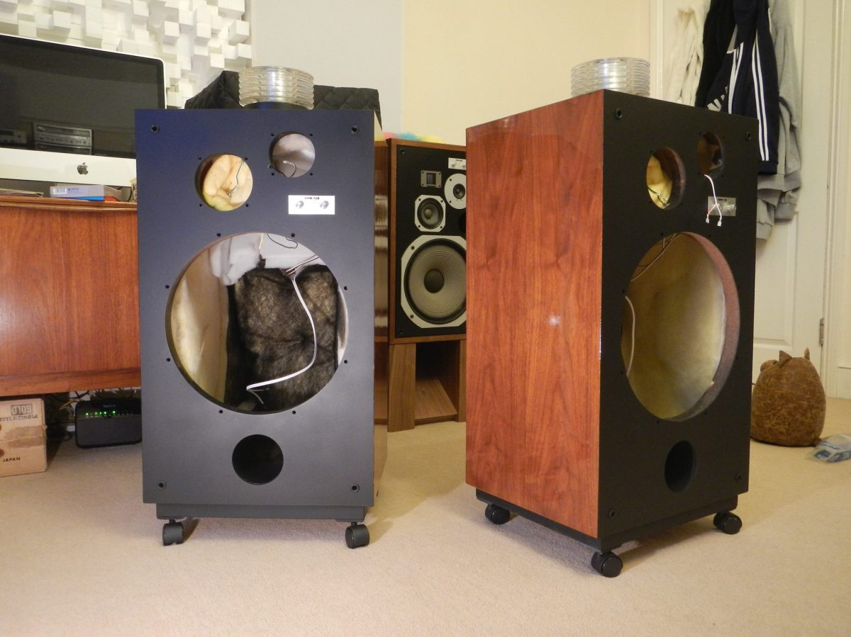 part 3 cabinet restoration final assembly audiophile vintage