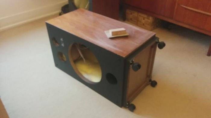 pioneer hpm 150 restoration part 3 cabinet restoration final