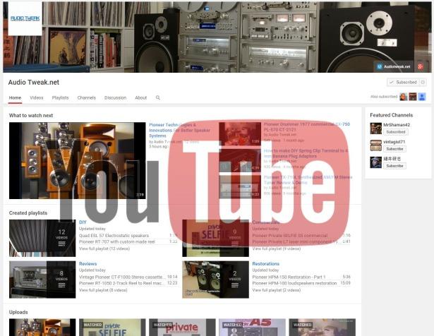 youtube-audiotweaknet